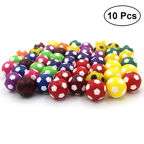 TOYMYTOY 10pcs Mini balones fútbol juguete 36MM Resco
