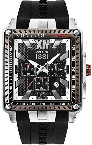 Cerruti 1881 CRA012SU02BK Montre à bracelet pour homme