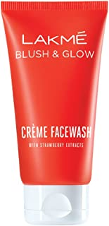 Lakme Strawberry Creme Face Wash, 100g
