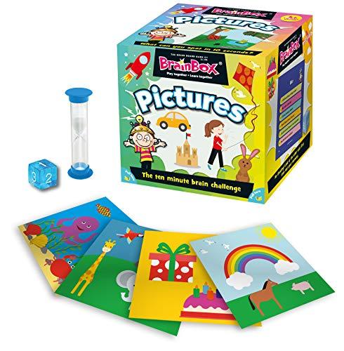 Brain Box Juego de Memoria First Pictures, en inglés, Multicolor (31690010A)