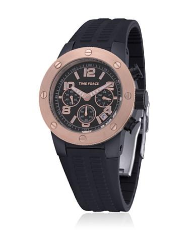 Time Force Reloj con Correa de Caucho TF4004M15