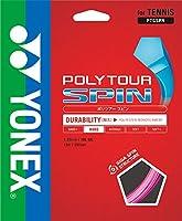 ヨネックス(YONEX) テニス ストリング ポリツアースピン PTGSPN ピンク(026)