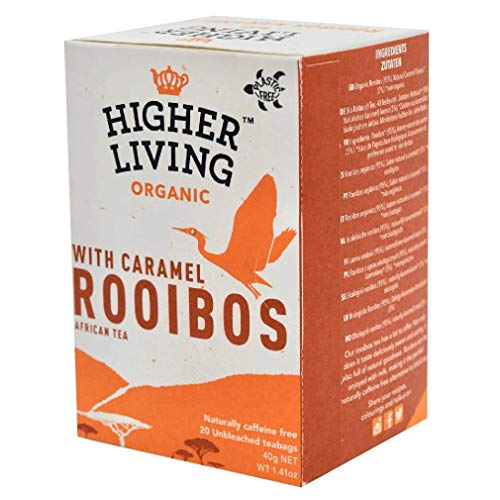 Higher Living Bio Rooibos Karamell, 20Btl 40 g