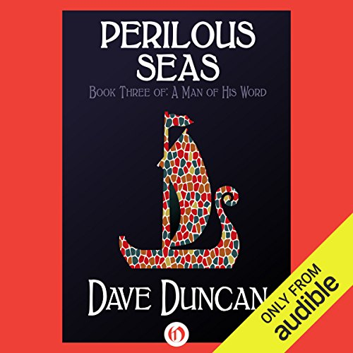 Perilous Seas audiobook cover art