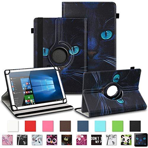 NAUC Tablet Schutzhülle für TrekStor Surftab Breeze 7.0 Tasche Tablettasche Hülle mit Standfunktion 360° drehbar hochwertiges Kunst-Leder Cover Universal Tablethülle Case, Farben:Motiv 7