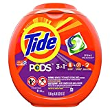 Tide Pods 3 in 1, Laundry Detergent Pacs, Spring...