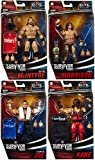 Ringside WWE Elite Survivor Series 2020 Complete Set of 4 - Mattel Toy Wrestling Action Figures