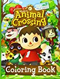Animal Crossing New Horizons Coloring Book: Animal Crossing New Horizon Adults Coloring Books! (Stress Relieving For Anyone)