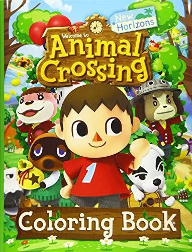 Animal Crossing New Horizons Coloring Book: Animal Crossing New Horizon Adults Coloring Books!...