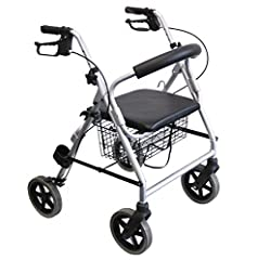 Trendmobil Lichtgewicht roller LR 56 slechts 6,7 kg rollator incl. mand en paalhouder - lekvrije PU banden*