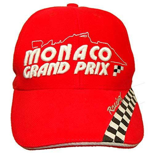 Souvenirs de France - Casquette Officielle Grand Prix de Monaco à Damiers - Taille réglable