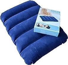 Gatih Air Pillow Travel Pillow, Inflatable Velvet Soft Air Pillow (Universal Size, Blue) (1)
