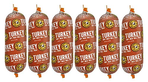 Happy Howie's Premium Turkey Soft Meat Roll 7 Oz 6 Pack (New)