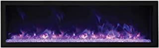 Amantii Indoor/Outdoor Built-in Electric Fireplace (BI-72-DEEP-XT), Extra Tall, 72-Inch