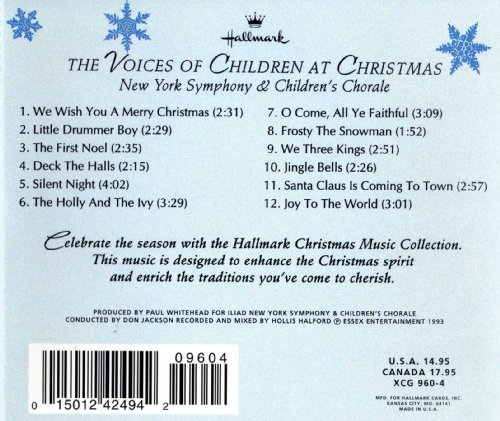 Hallmark Christmas Music Collection- The Voices of Children at Christmas