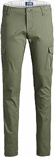 Jack & Jones Junior Pantalones Marco Joe para niño, verde oliva, 8 años