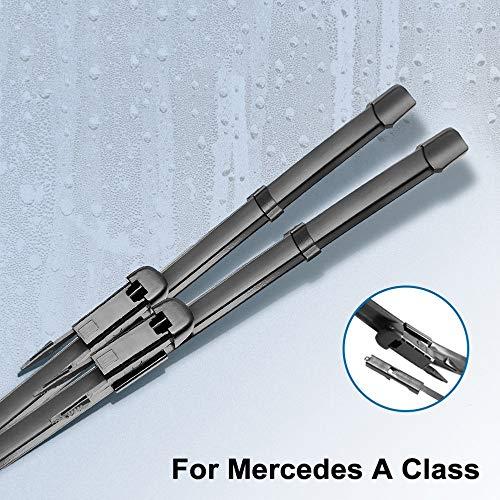 DKINCM Wischerblätter, für Mercedes Benz A Klasse W168 W169 W176 A140 A150 A160 A170 A180 A190 A200 A210 A220...