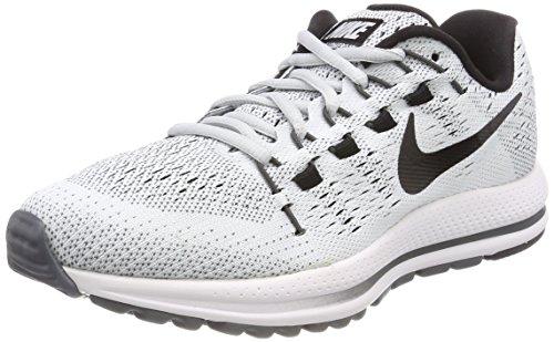 Nike Women's W Air Zoom Vomero 12 Tb Running Shoes, Grey (Pure Platinum/Dark Grey/Black), 4.5 UK 38 EU