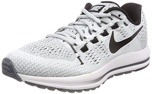 Nike Women's W Air Zoom Vomero 12 Tb Running Shoes, Grey (Pure Platinum/Dark Grey/Black), 4.5 UK 38 EU