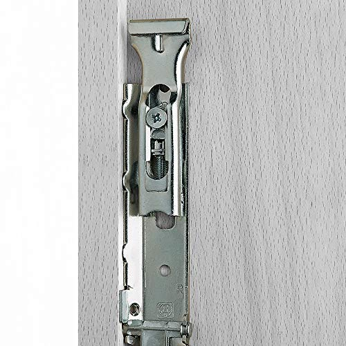 Colgadores ocultos de armario Levelup Emuca con pletina