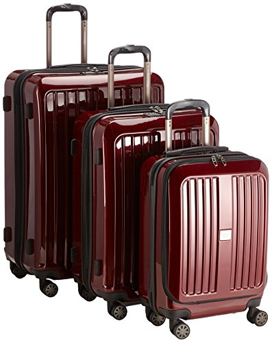 HAUPTSTADTKOFFER - X-Berg - Set of 3 Hardside Luggages Suitcase Spinner Trolley (S, M & L), TSA, 258...