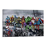 SOROP 6472-DC Marvel Superheroes Poster dekorative Malerei