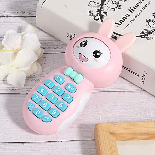 Voluxe Juguete para teléfono móvil, agradable a la piel y cómodo sonido envolvente 3D estable y duradero, para el hogar Institución educativa infantil educación temprana (rosa)