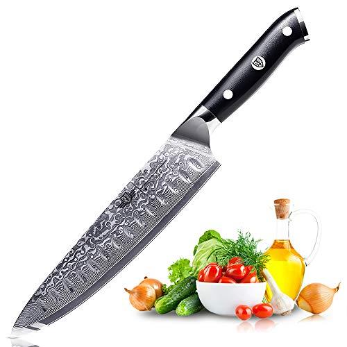 Kitchen Emperor Damastmesser Kochmesser Chefmesser 8 zoll Sehr Scharfe Klinge 67 Lagen Damaskus Stahl Köche Messer zum Schneiden