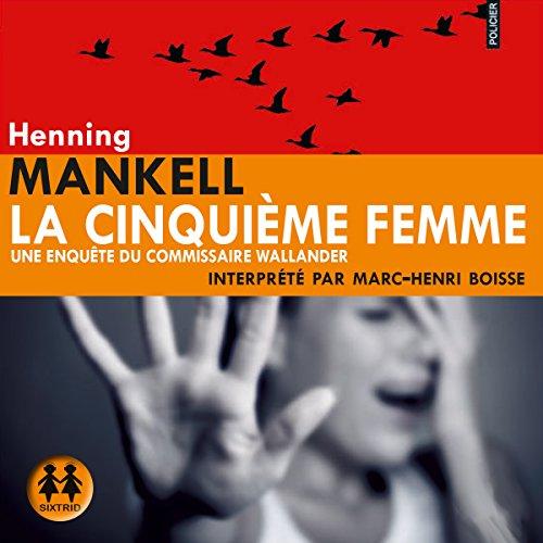 La cinquième femme audiobook cover art