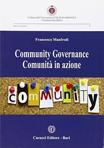 Community governance comunità in azione