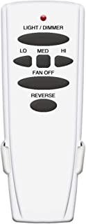 Ceiling Fan Remote Control Replacement for Hampton Bay UC7078T with Reverse Button(Just Remote Control) RC362-01