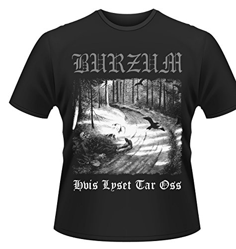 Burzum Plastichead -T-Shirt Uomo, Nero XXL
