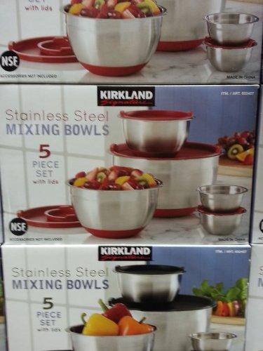 Kirkland Signature 18/10 Stainless Steel Mixing...