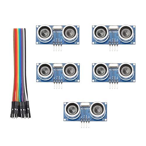 FTCBlock HC-SR04 Ultrasonic Sensor Distance Module for Arduino UNO MEGA2560 Nano Robot XBee ZigBee by ElecRight(5pcs)