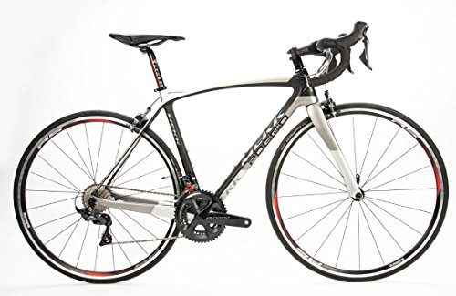 Review Mekk Poggio 3.0 with 700C x 545 Medium Size Carbon Fiber Frame