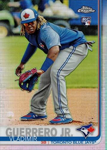 2019 Topps Chrome Factory Set Image Variation Refractor Baseball #700 Vladimir Guerrero Jr. Rookie Card