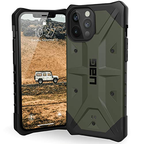 Urban Armor Gear UAG iPhone 12 Pro Max 5G - (6.7 inch) Rugged Lightweight Slim Shockproof Pathfinder Protective Cover, Olive 112367117272