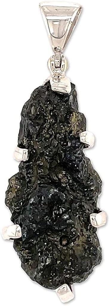 Moldavite Pendant Necklace by Bargain sale Ranking TOP7 Stones Desire