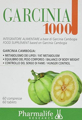 Pharmalife Research GARCINIA 1000, Astuccio da 60 Compresse
