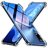 Peakally Cover Compatibile con Realme 7 5G, Trasparente Morbida TPU Silicone Custodia [Ultra Sottile][AntiGraffio][Antiurto] per Realme 7 5G-Trasparente