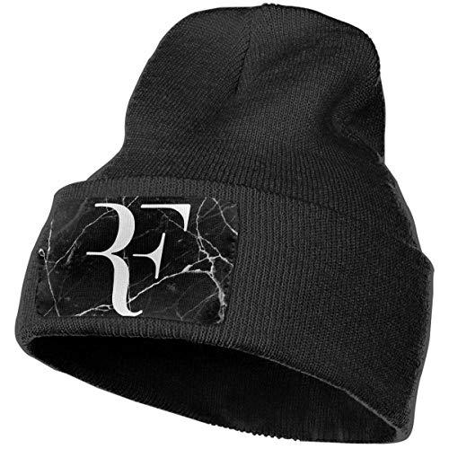 Tengyuntong Unisex Roger-Federer Outdoor Fashion Knit Beanies Hat Soft Winter Knit Caps