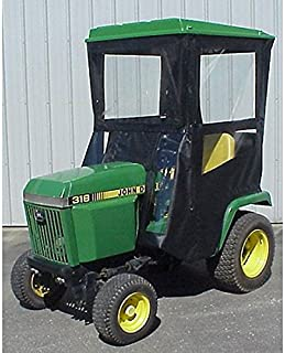 Hard Top Cab Enclosure Fits John Deere 318 420 and 430 Tractors