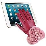 Lederhandschuhe Damen, Winter Touchscreen...