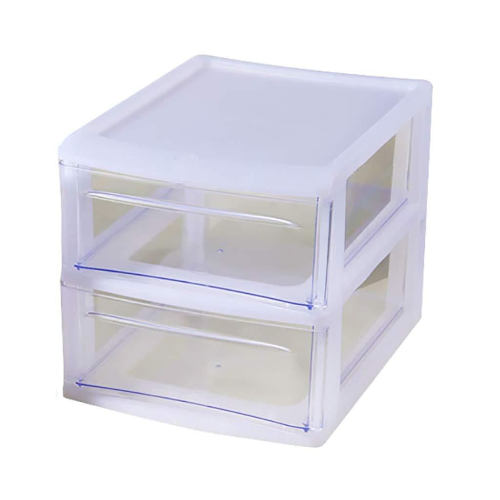 FPigSHS Archivadores de fichas Gabinete de Almacenamiento de Escritorio 2 Capas Tipo de cajón Archivador A4 archivador Caja de Almacenamiento cosmética, Alta Capacidad (Tamaño : 33 * 25 * 25cm): Amazon.es: Hogar