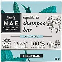 N.A.E. Shampoo Solido per Capelli Grassi Equilibrio, Shampoo Bar Ecologico e Vegano con Estratti di Salvia e Menta...