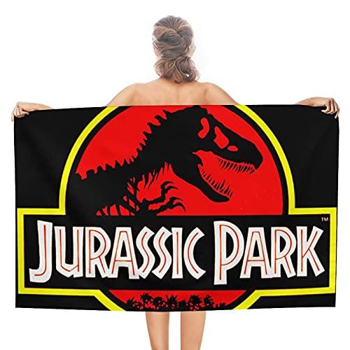 Jurassic Park - Toallas de baño unisex de lujo, toallas de playa suaves para piscina/nadar, toalla absorbente y ligera de doble cara
