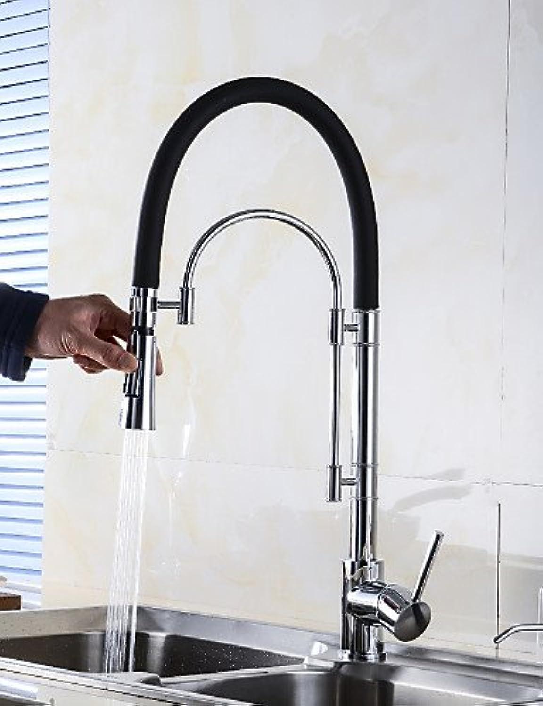 YFF@ILU Home deco Centerset einzigen Griff ein Loch mit Chrom Wasserhahn Küche