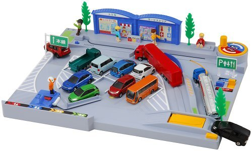Parking in the Tomica World back! Fun service area (japan import)