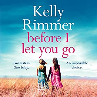 Before I Let You Go                   By:                                                                                                                                 Kelly Rimmer                               Narrated by:                                                                                                                                 Amy Landon,                                                                                        Vanessa Johansson                      Length: 12 hrs and 10 mins     15 ratings     Overall 4.3