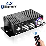 Amplificatore Bluetooth Audio Auto,DUTISON Mini Amplificatore Stereo HiFi per Auto e Casa,100W...